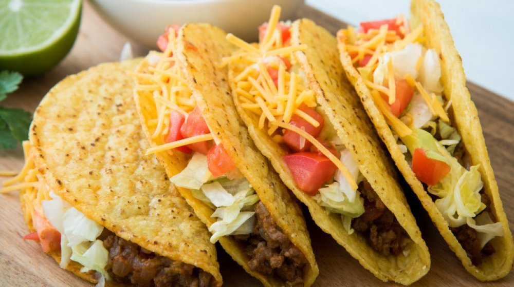 Popular Fast Food Tacos Ranked From Worst To First