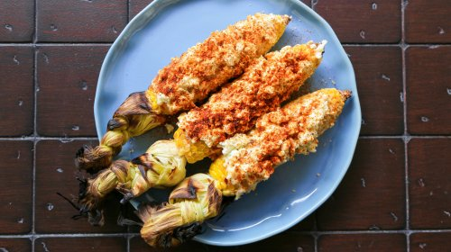 The 5-Ingredient Mexican Street Corn You'll Make Again And Again