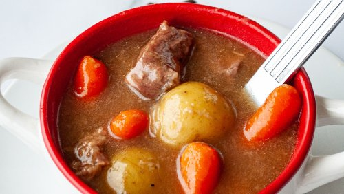 Mashed Recipe: Instant Pot Beef Stew For Nights When You're In A Hurry