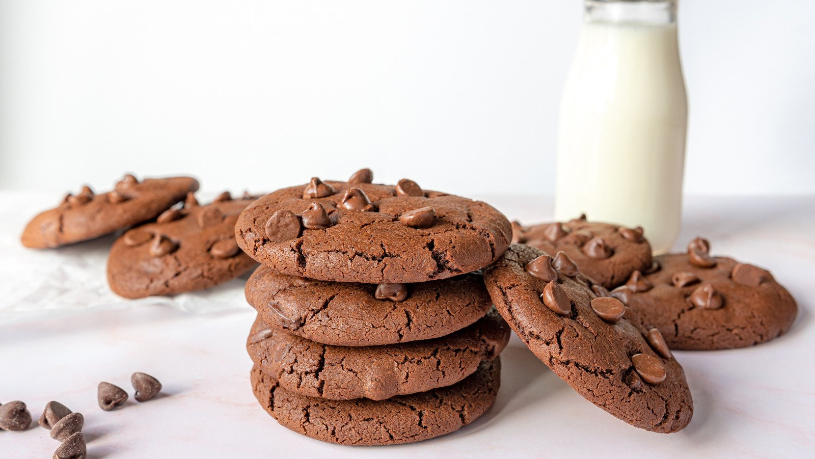 The Rich Double Chocolate Chip Cookies You're Craving