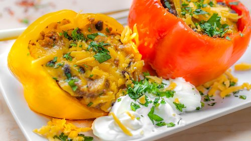 This One-Pot Stuffed Pepper Recipe Is Perfect For Busy Nights