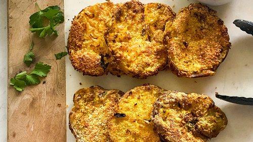 Easy Air Fryer Green Tomatoes Recipe That's Full Of Crispy Goodness