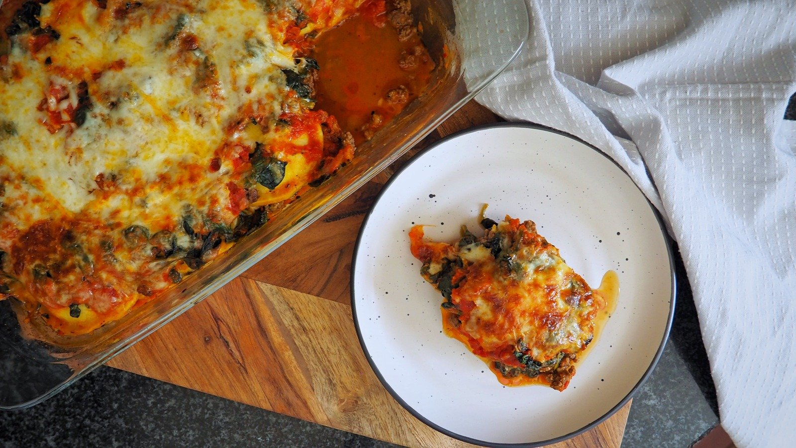 5-Ingredient Lasagna That's Insanely Easy To Make