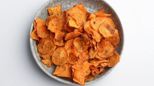 Air Fryer Sweet Potato Chips Recipe