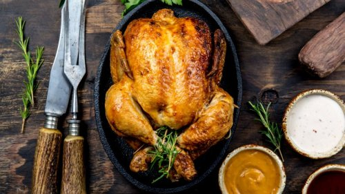 The Secret Ingredient That Will Give Your Chicken The Crispiest Skin Ever