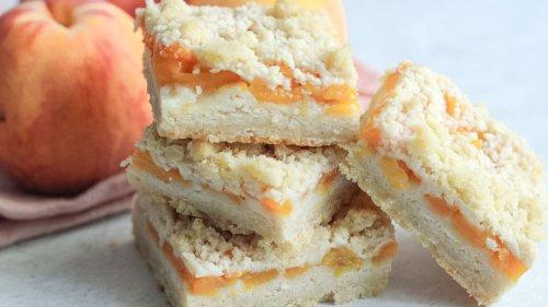 Best Peach Crumble Bars Recipe