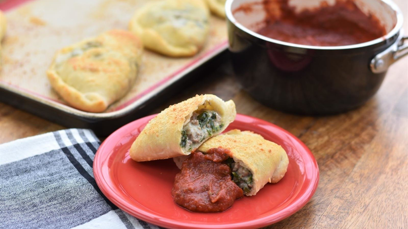 These Calzones Are Too Easy Not To Try