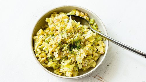 Easy Cauliflower Potato Salad Recipe Brings A New Twist To An Old Favorite