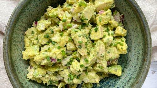 Mashed Recipe: Creamy Avocado Chicken Salad Recipe