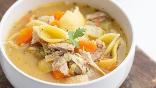 Leftover Rotisserie Chicken Soup Recipe