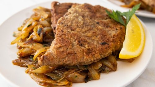 Old-Fashioned Liver And Onions Recipe