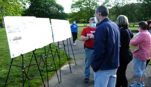 Holyoke seeks input on plan for park where playground is 'out of code, not fun and showing its age'