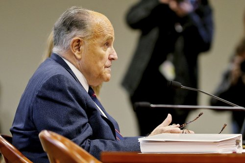 Report: Rudy Giuliani left voicemail for senator to stall Congress but dialed wrong number