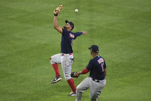 Red Sox notebook: Xander Bogaerts juggles 'fluky' 161-foot triple