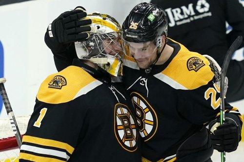 Bruins' Brandon Carlo showing no rust after injury layoff