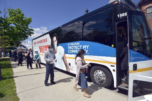 Holyoke, Chicopee roll out COVID vaccine bus
