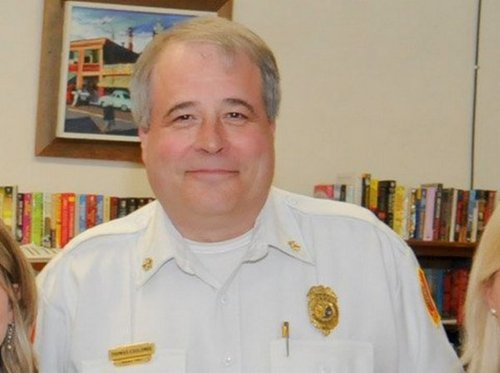 Embattled former Ware Fire Chief Thomas Coulombe retires