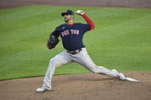 Alex Cora explains replacing Boston Red Sox starter Martín Pérez for Matt Andriese after 5 innings (74 pitches) with game tied 1-1