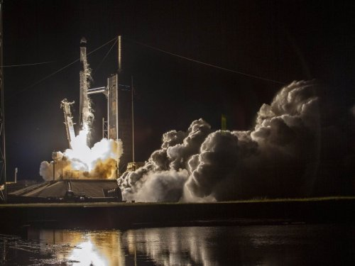 SpaceX launch is first to send civilian crew to orbit Earth