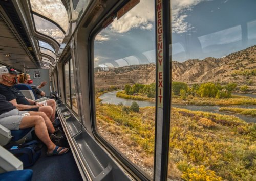 The most scenic Amtrak train rides through America's national parks