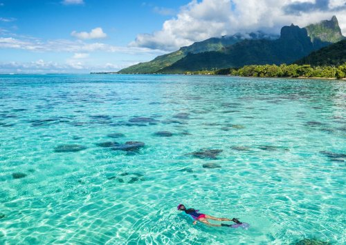 8 dreamy experiences in French Polynesia, from paddling a va'a to diving with eagle rays