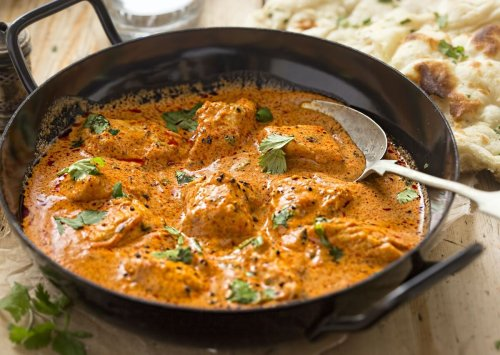The difference between butter chicken and chicken tikka masala