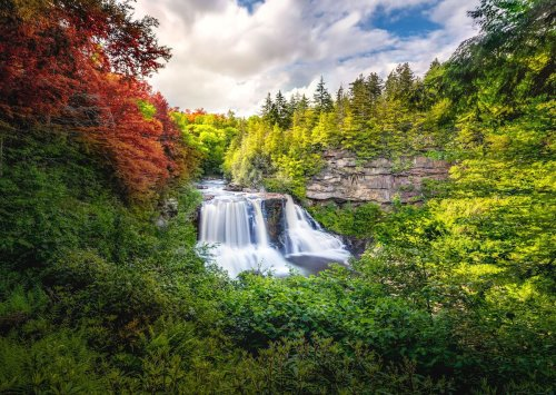 7 hypnotic waterfalls you need to check out in West Virginia