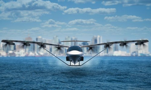 This new all-electric half-boat half-plane could change transportation forever