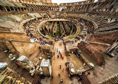 Rome's Colosseum is getting a stage so visitors can feel like gladiators