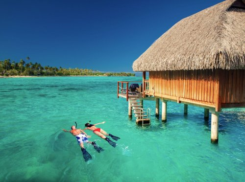 It's time to check overwater bungalow off your bucket list