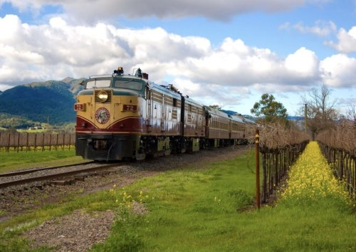 The Napa Valley Wine Train is back in business with onboard tastings and gourmet meals