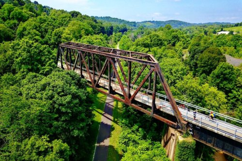 Hike and bike along old railway lines that are now epic paths in every US state