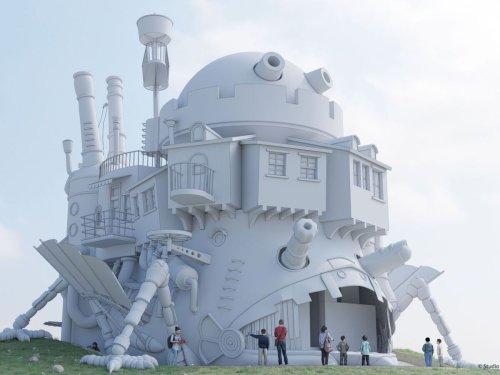 Get a sneak peek at Japan's long-awaited Studio Ghibli theme park