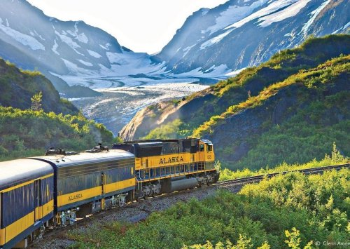 Riding the Alaska Railroad is a fun and beautiful way to see the Last Frontier state