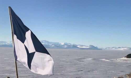 Antarctica's new flag hopes to bring attention to this fragile continent