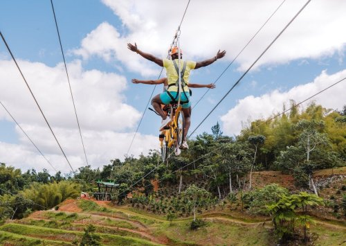 Puerto Rico adventure park breaks world record for longest bicycle zip wire