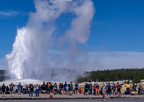 Yellowstone National Park breaks visitor record in July and August