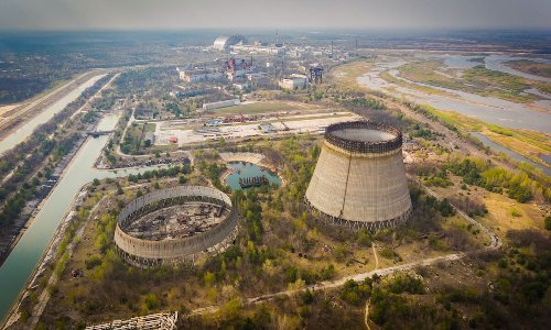 Fly above Chernobyl in this aerial tour of the site of the worst nuclear disaster