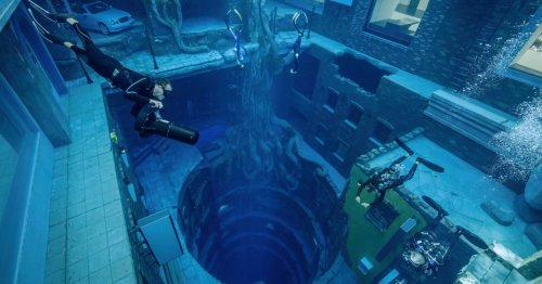 The World's Deepest Swimming Pool Has Opened in Dubai