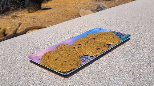 Fresh baked cookies in a car? Park rangers in Arizona just did it in extreme heat