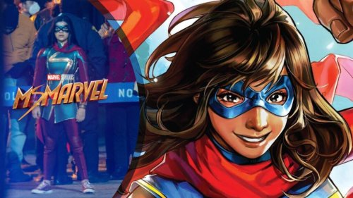 Iman Vellani's Ms. Marvel Costume Revealed in Newly Released Set Photos