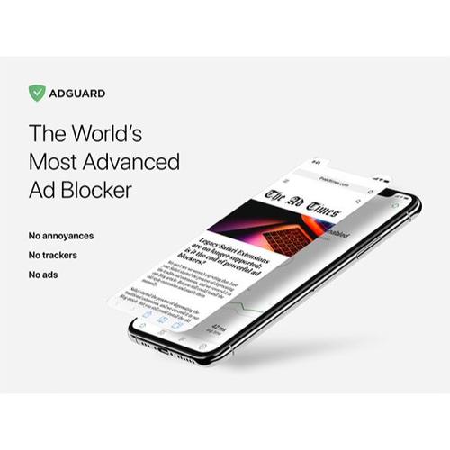AdGuard, 77% off, $129 ↘️ $29.99!