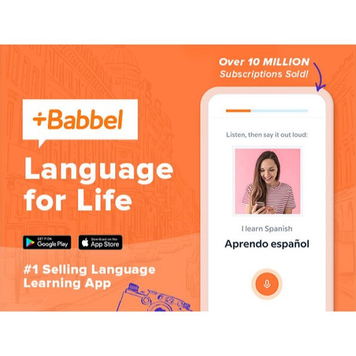 Babel Language Learning, 60% off, $499 ↘️ $199! - Discover great deals on fantastic apps, tech, & more