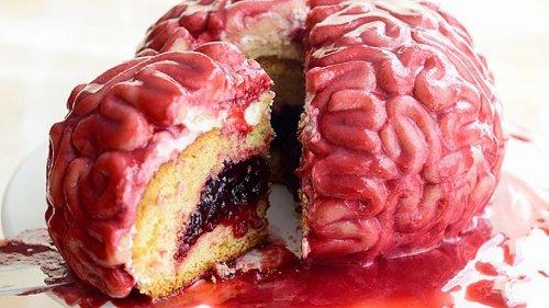 Rezept für Halloween: Gehirnkuchen als schaurig-schöne Leckerei | MDR.DE