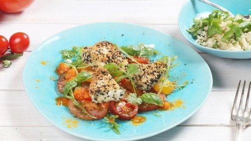 Rezepte: Tomaten-Gericht mit Feta und Couscous oder Caponata und Burrata | MDR.DE