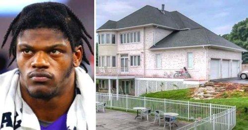 What is Lamar Jackson's net worth? Baltimore Ravens QB's $1.3M mansion boasts 8 bedrooms