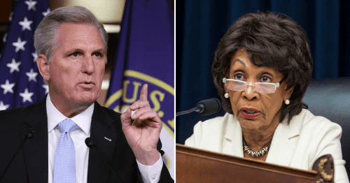 Kevin McCarthy threatens action against Maxine Waters for 'inciting Minnesota riot' if Nancy Pelosi doesn't