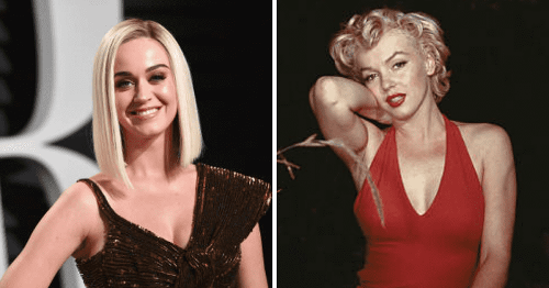 Katy Perry flashes sizzling buttcheeks in Marilyn Monroe-style skirt blow-up in pics