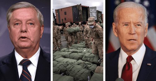 Lindsey Graham blasts Joe Biden's Afghan troop withdrawal plan: 'He's paving way for another 9/11'