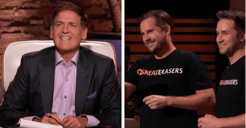 Why didn't SneakERASERS founders take $200k deal? Fans say duo messed up 'trying to nickel and dime' Mark Cuban